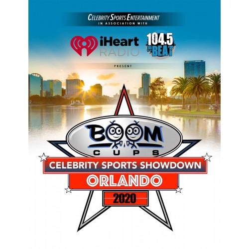 Boom Cups Celebrity Sports Showdown Courtside Tickets