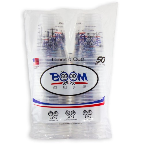 Boom Cups - 50 Count Sleeve
