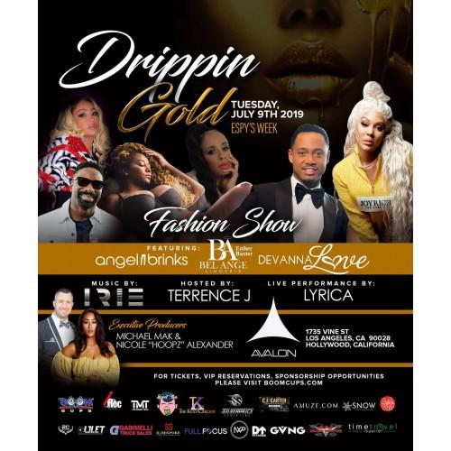 Drippin Gold VIP Gold Ticket