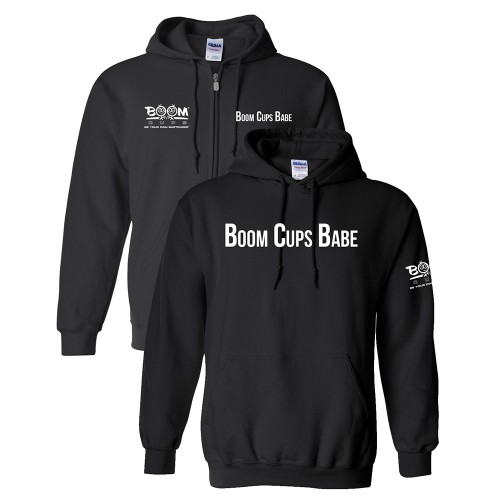 Boom Cups Babe Hoodie